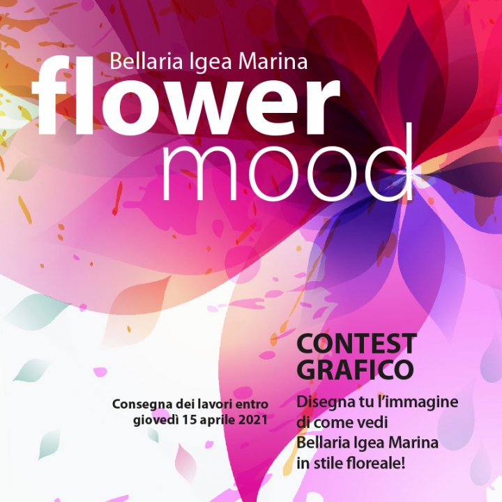 BELLARIA IGEA MARINA FLOWER MOOD: CONTEST GRAFICO