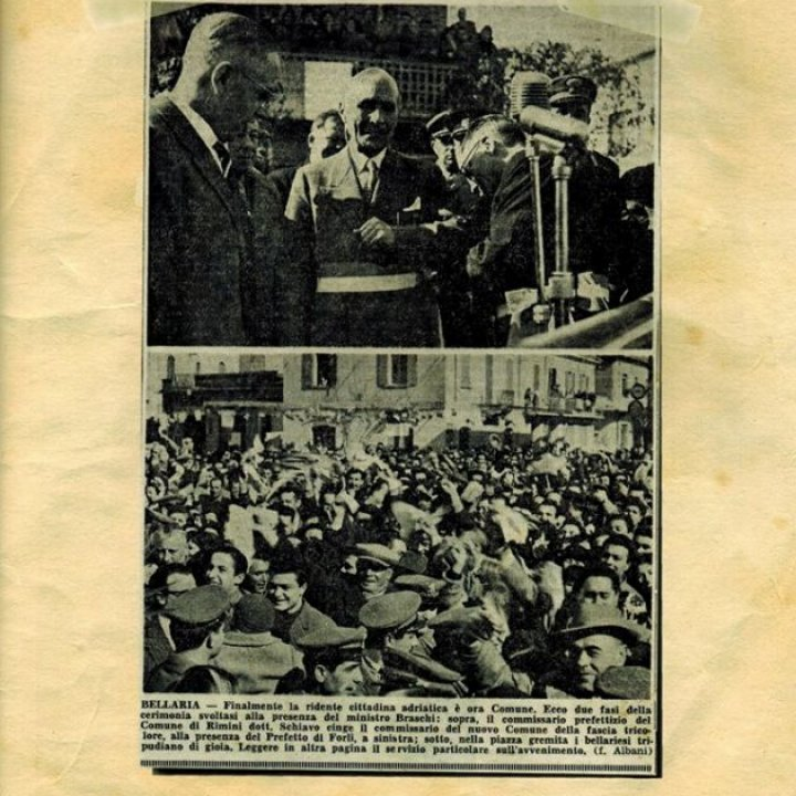 28 febbraio 1956: Bellaria Igea Marina è Comune
