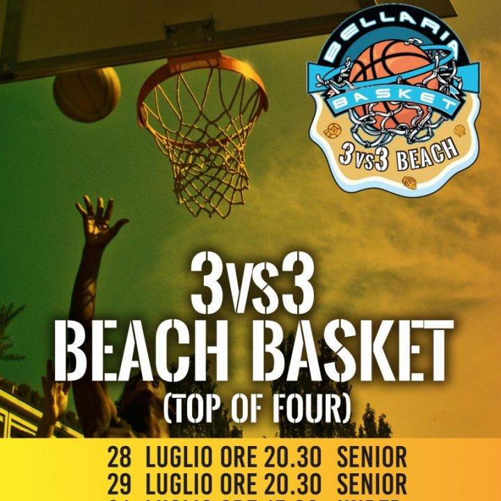 BEACH BASKET 3vs3 TOP OF FOUR