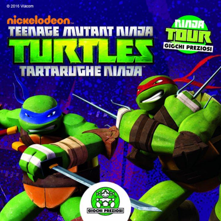 TOUR NINJA TURTLES