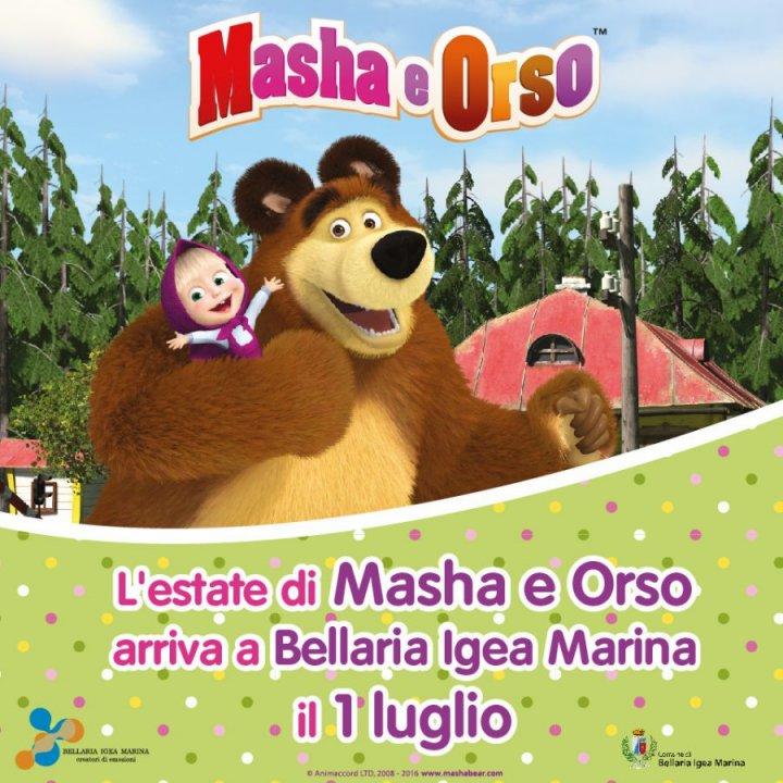 L'ESTATE DI MASHA E ORSO