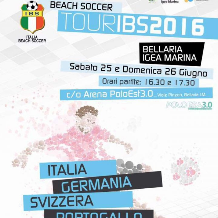 BEACH SOCCER TOUR IBS 2016