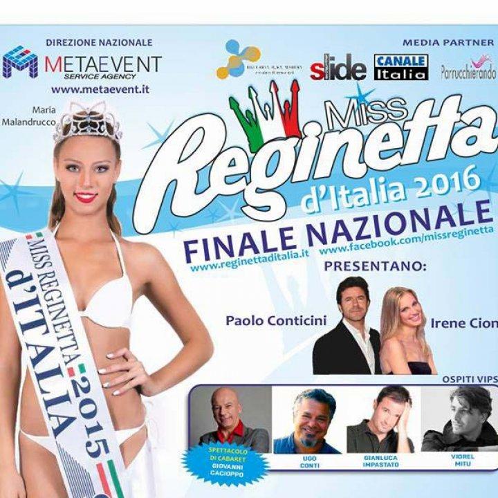 MISS REGINETTA D'ITALIA 2016