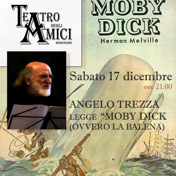 ANGELO TREZZA LEGGE MOBY DICK