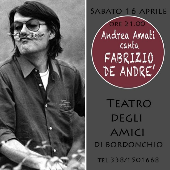ANDREA AMATI CANTA DE ANDRE'