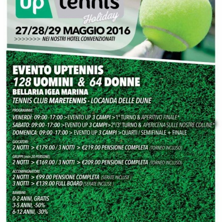 UP TENNIS HOLIDAY