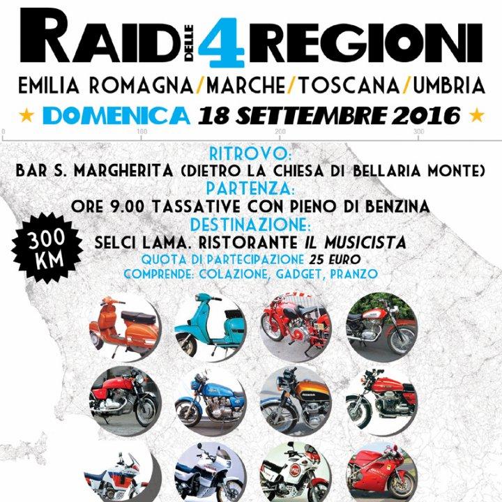 RAID DELLE 4 REGIONI