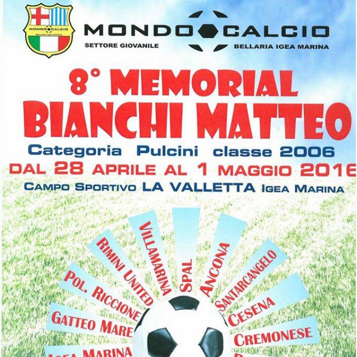 8° MEMORIAL BIANCHI MATTEO