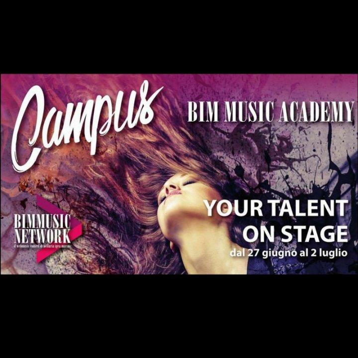 Campus Bim Music Academy: un viaggio nella musica al Palacongressi