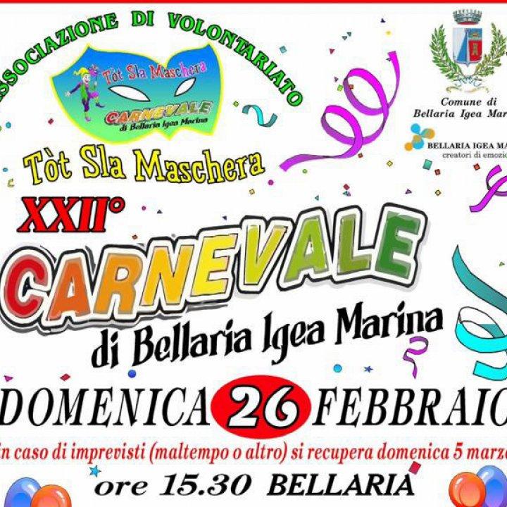 XXII CARNEVALE DI BELLARIA IGEA MARINA