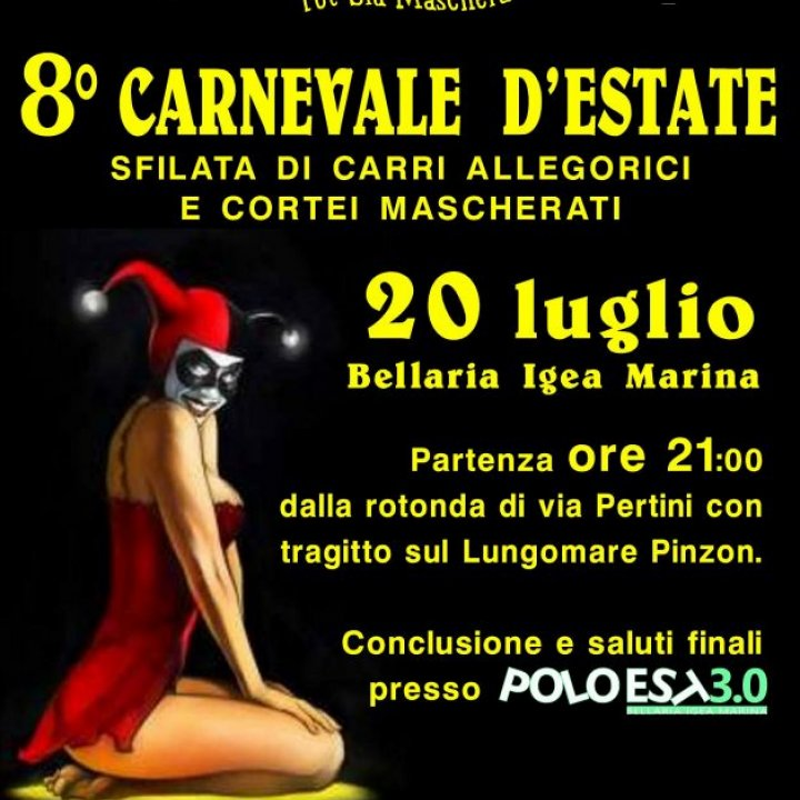 8° CARNEVALE D'ESTATE