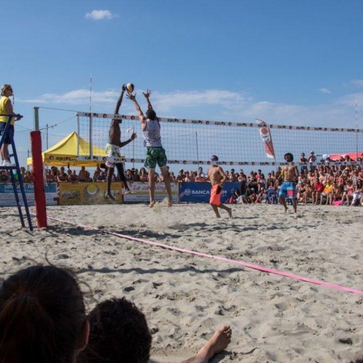 Kiklos un'esplosione di Sand Volley: una full immersion