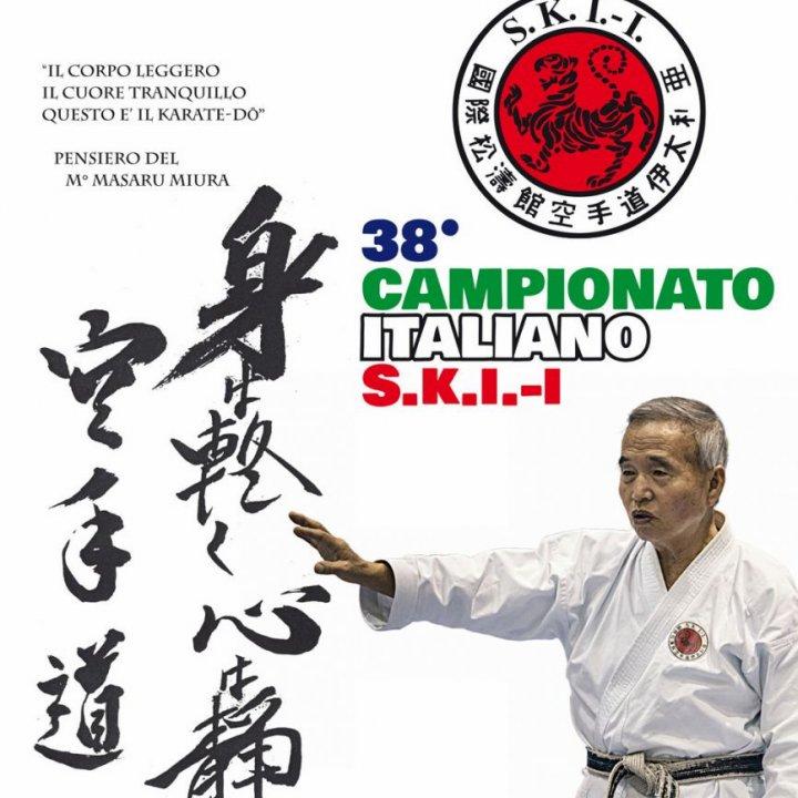 38° CAMPIONATO ITALIANO KARATE SKI-I