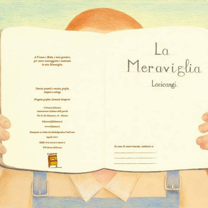 """PRESENTAZIONE LIBRO """"LA MERAVIGLIA"""""""