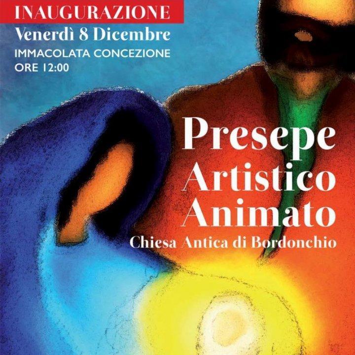 INAUGURAZIONE PRESEPE ARTISTICO ANIMATO