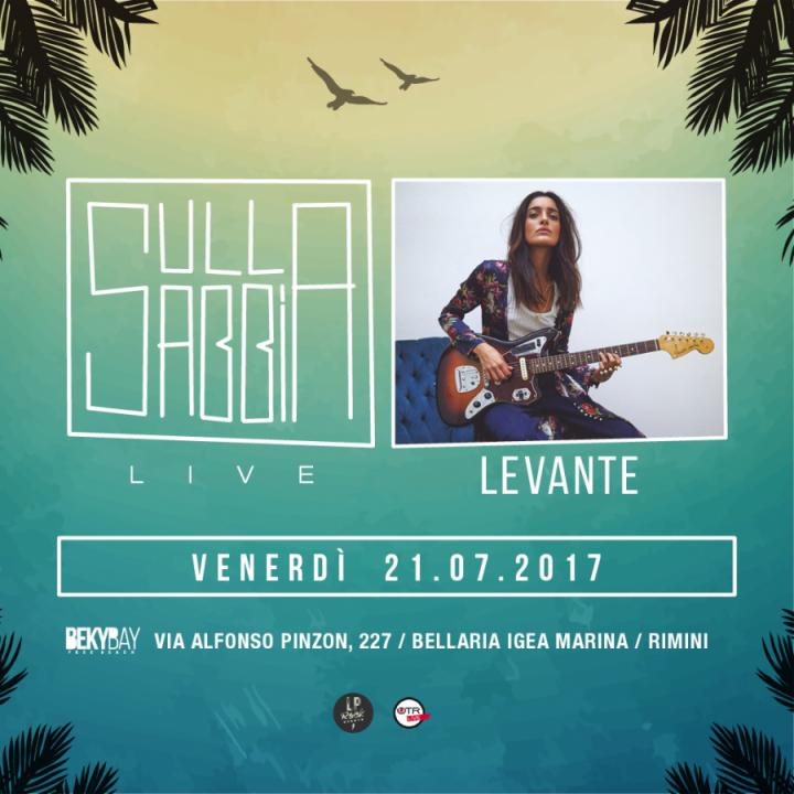 SULLASABBIA | LEVANTE