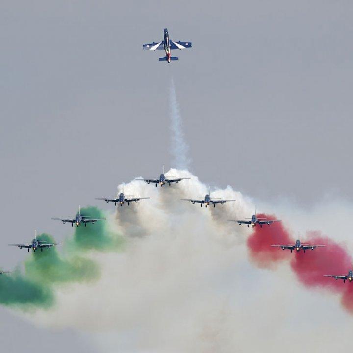 La Pattuglia Acrobatica Nazionale torna a Bellaria Igea Marina in diretta su RAI1