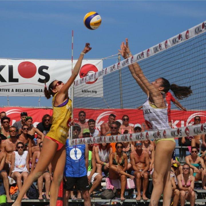 Kiklos un lungo weekend di Volley