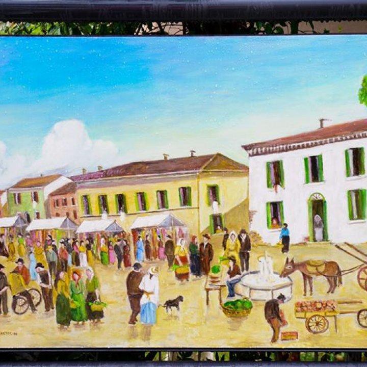 Borgata Vecchia: inaugurate le nuove opere pittoriche e scultoree