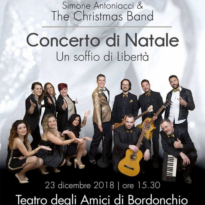 SIMONE ANTONIACCI & THE CHRISTMAS BAND