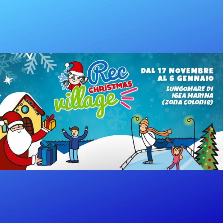 REC CHRISTMAS VILLAGE