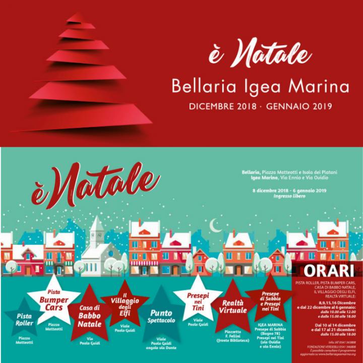 E' NATALE | VILLAGGIO DI BABBO NATALE