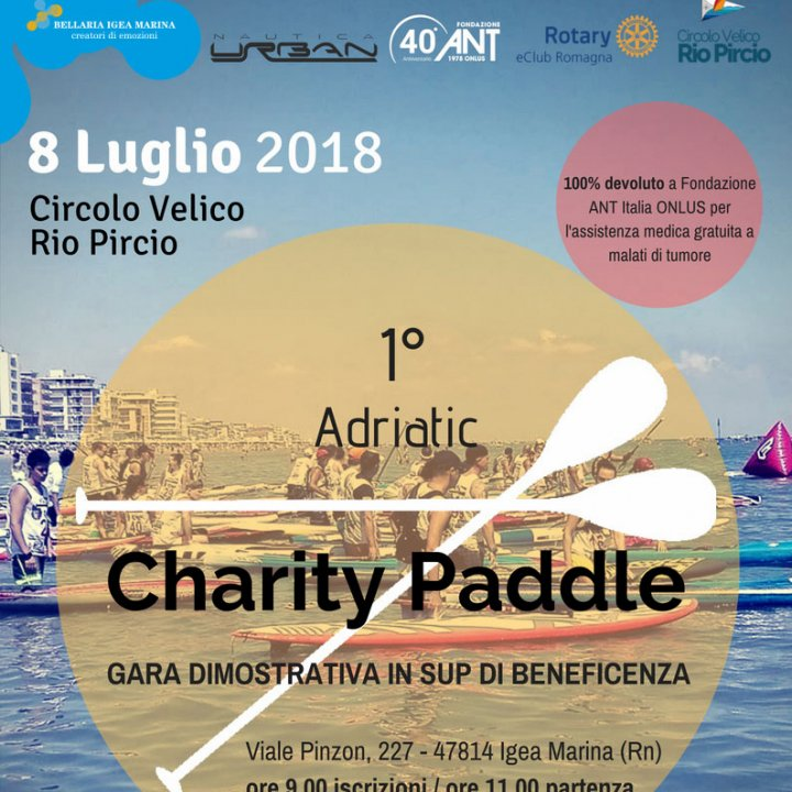 1° ADRIATIC CHARITY PADDLE