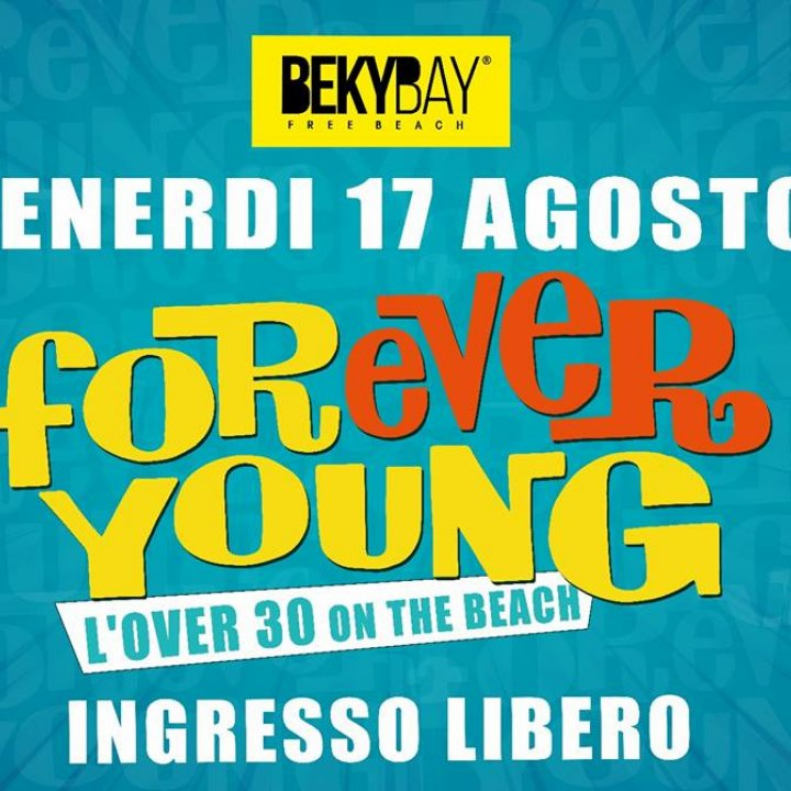 FOREVER YOUNG | OVER 30 ON THE BEACH