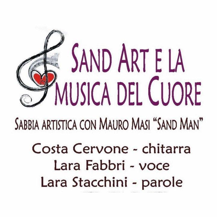 SAND ART E LA MUSICA NEL CUORE