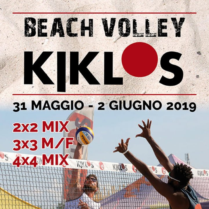 20° BEACH VOLLEY KIKLOS GIUGNO