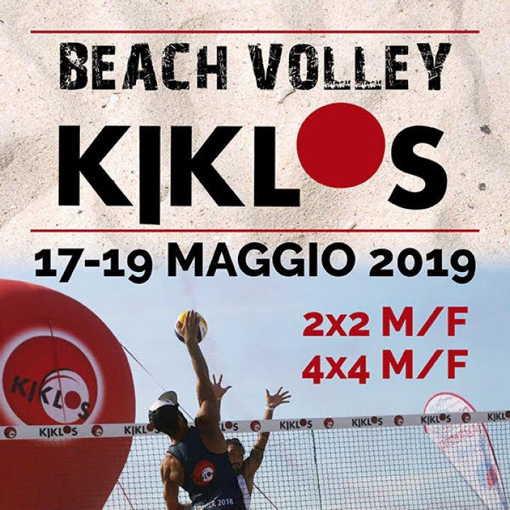 26° BEACH VOLLEY KIKLOS MAGGIO