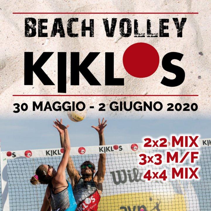 21° BEACH VOLLEY KIKLOS GIUGNO