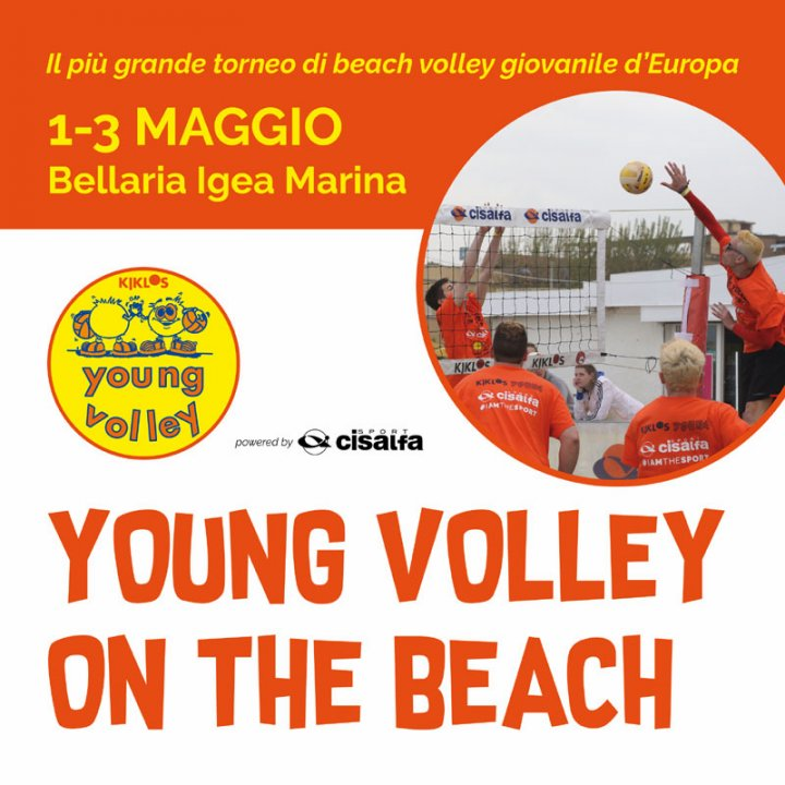 20° YOUNG VOLLEY ON THE BEACH