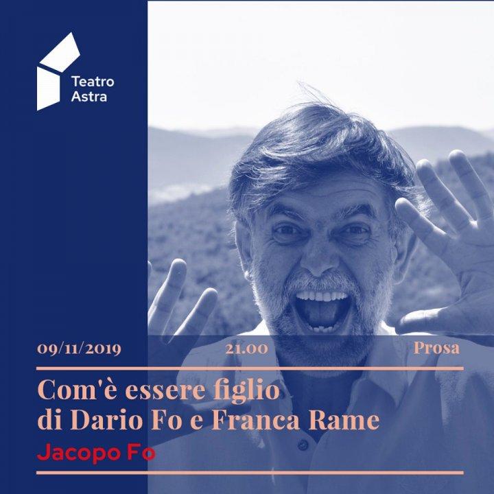 COM'E' ESSERE FIGLIO DI FRANCA RAME E DARIO FO | JACOPO FO