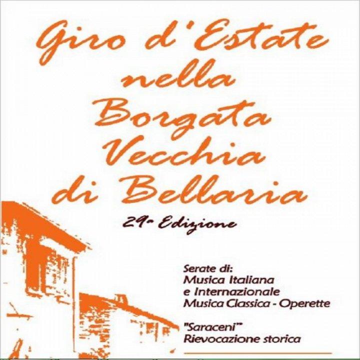 GIRO D'ESTATE NELLA BORGATA VECCHIA DI BELLARIA   RASSEGNA MUSICALE