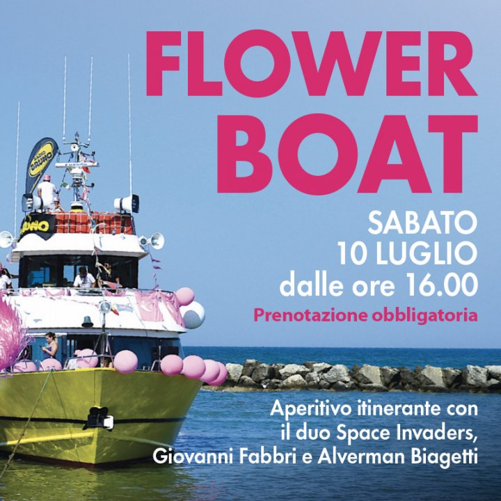 FLOWER BOAT | SPACE INVADERS