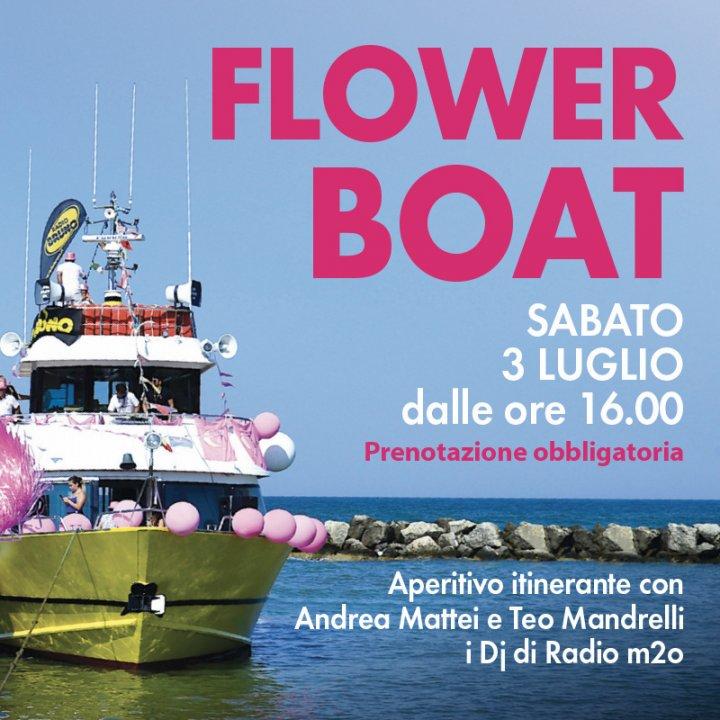 FLOWER BOAT | DJ TEO MANDRELLI e ANDREA MATTEI DI RADIO m20