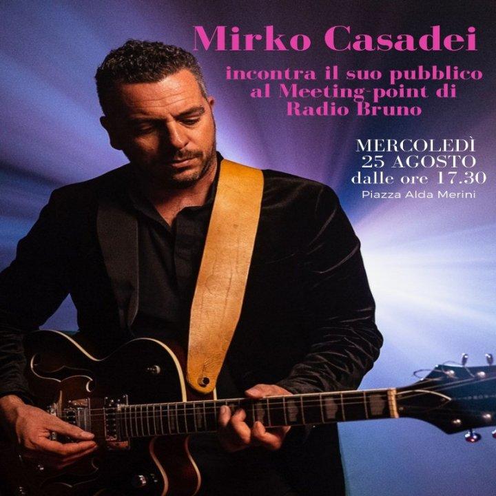 MIRKO CASADEI AL MEETING STUDIO DI RADIO BRUNO