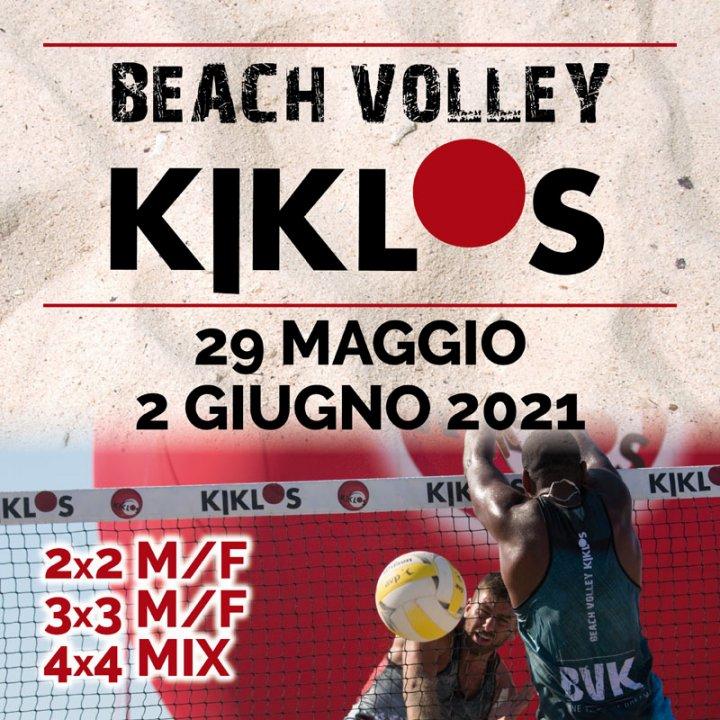 BEACH VOLLEY KIKLOS GIUGNO