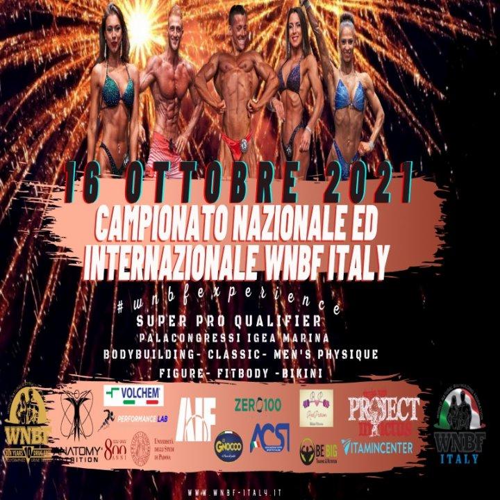 CAMPIONATO WNBF ITALY