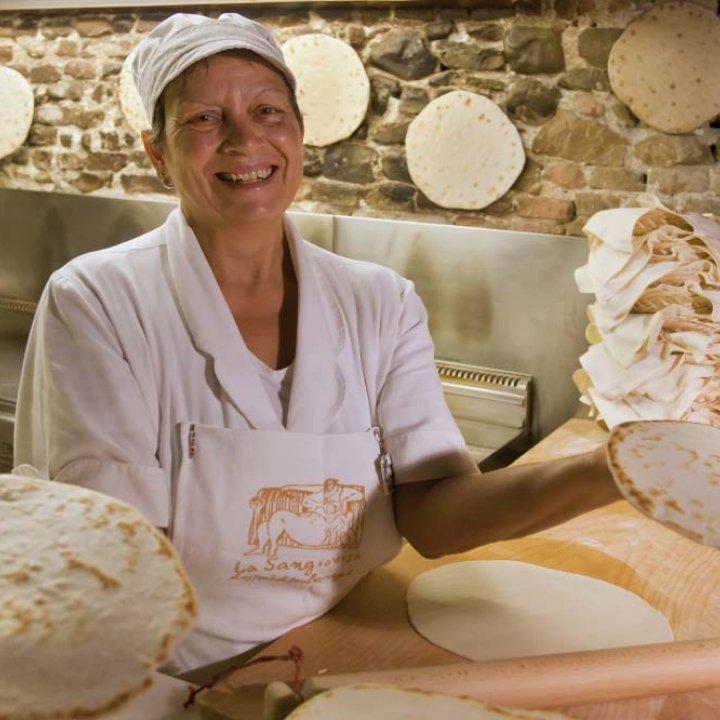 Piadina, notre pain typique