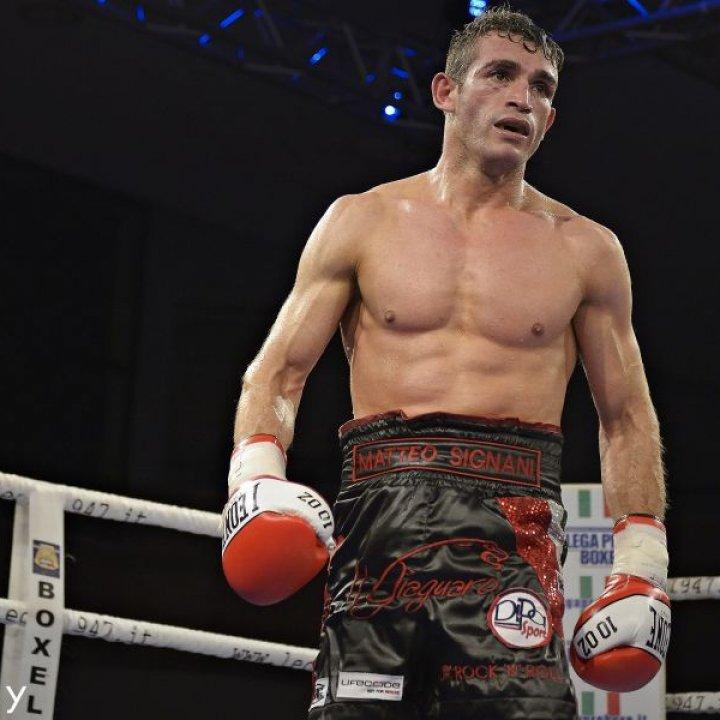 Ring Side: Matteo Signani a caccia di un nuovo titolo
