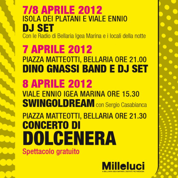 EASTER IN BELLARIA IGEA MARINA 07-08 april 2012