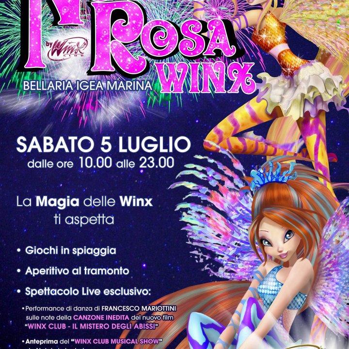 LA NOTTE ROSA WINX 05 luglio 2014