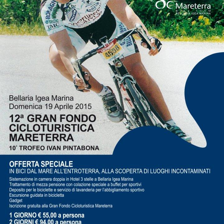 12^ GRAN FONDO CICLOTURISTICA MARETERRA 19 aprile 2015