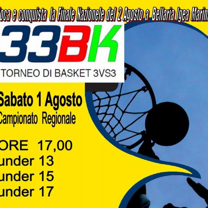 33BK TORNEO BASKET 3vs3