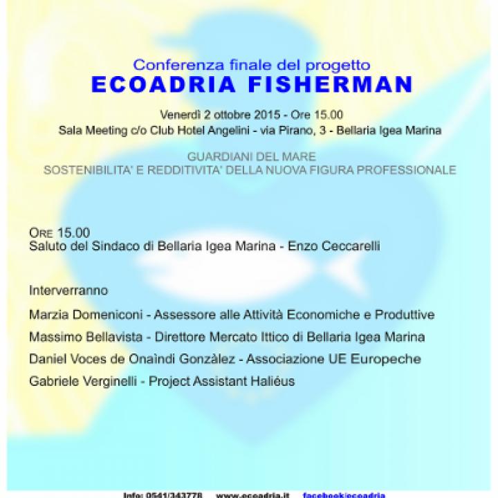 CONFERENZA FINALE PROGETTO ECOADRIA-FISHERMEN