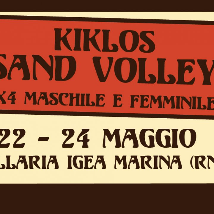 22° KIKLOS SAND VOLLEY 4x4 M/F