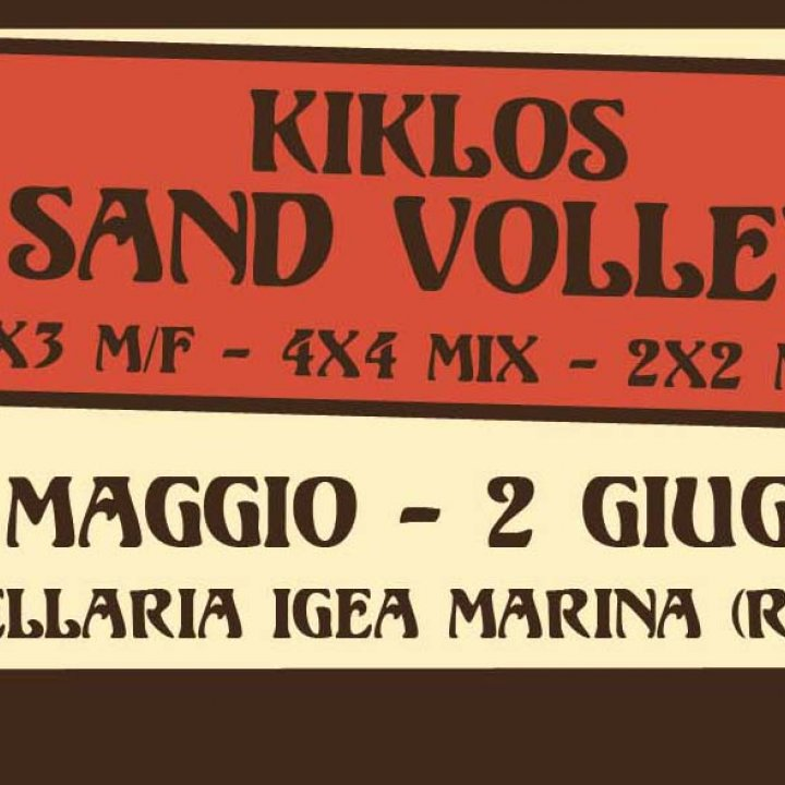 16° KIKLOS SAND VOLLEY