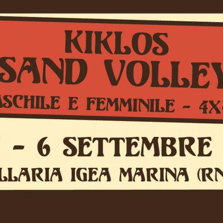 5° KIKLOS SAND VOLLEY